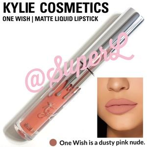 2/$15 Kylie Cosmetics Liquid Lipstick One Wish